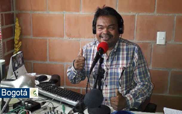 Luto en periodismo comunitario: Muere en Bogotá el locutor René Castillo