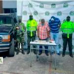 En Suba La Gaitana, capturados padre e hijo que transportaban armas camufladas