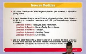 Tres UPZs de Suba se declaran dentro de las zonas de cuarentena especial