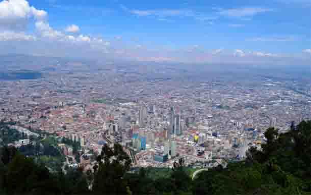 Polvo del Sahara incrementaría concentración de material particulado en Bogotá