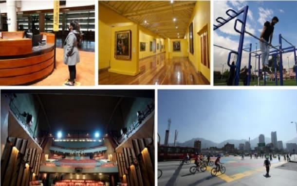Se levanta pico y cédula para cines, teatros, bibliotecas y museos en Bogotá
