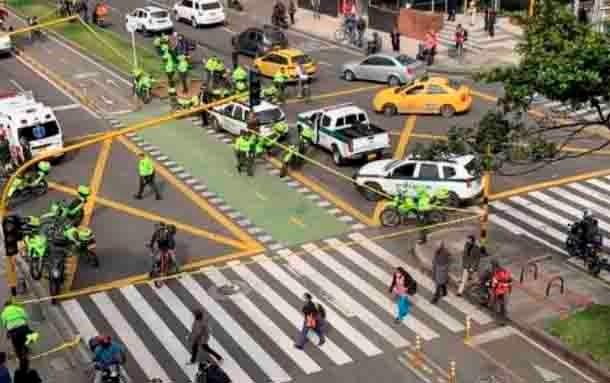 Balacera en Bogotá deja dos personas muertas