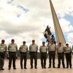 Policía de Turismo en Boyacá se capacita en bioseguridad