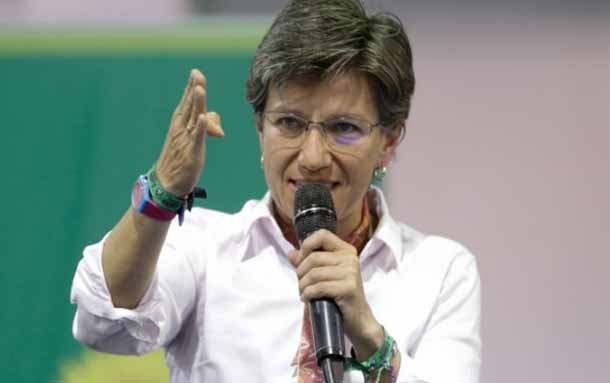 La alcaldesa Claudia López se manifestó tras muerte de joven en Suba