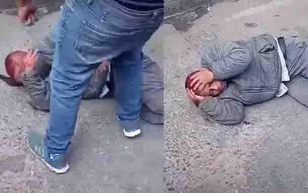 Tremenda golpiza recibió un ladrón en la localidad de Bosa