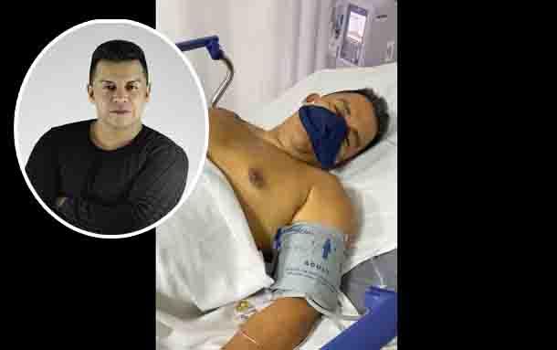 Luisito Muñoz es hospitalizado en un centro médico de Pereira