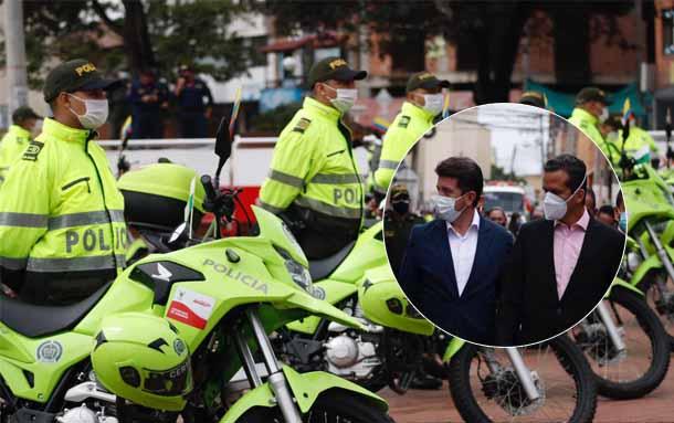 Nuevo parque automotor para mejorar la seguridad en Soacha Cundinamarca