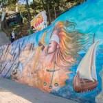 """Restauración del monumento """"Encuentro de dos mundos"""" en Suba"""