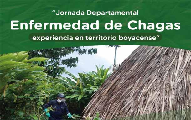Boyacá: este jueves se realizará la Jornada Departamental Enfermedad de Chagas