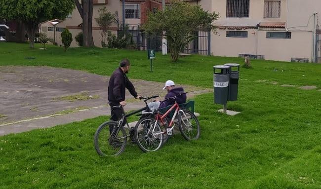 Delincuencia y drogadicción se tomaron el parques Las Navetas en Suba
