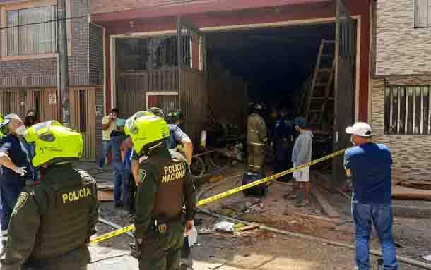 Fue identificado el hombre que falleció tras una explosión en Engativá
