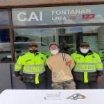 Un sujeto fue capturado por porte ilegal de armas de fuego en el barrio Arrayanes de Suba