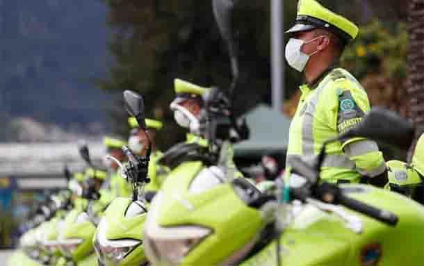 Un total de 214 uniformados llegan a reforzar la Policía de Bogotá