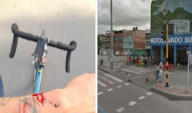 Fracasan en un intento de robo de una bicicletas en el barrio Japón en Suba