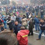 Reportan manifestaciones y vandalismo en Suba