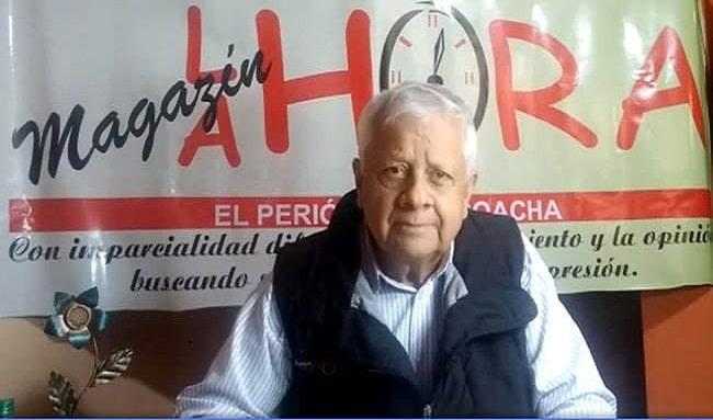 Luto en el periodismo Soachuno por la muerte Henry Mayorga Ávila,'Caspita'