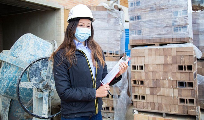 Más de tres mil mujeres podrán capacitarse en labores del sector construcción