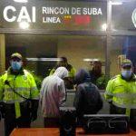 Autoridades en Suba capturan a una pareja por hurtar un equipo de sonido a un ciudadano