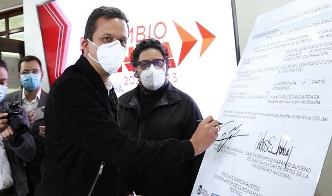 """""""El Hospital de Soacha será una realidad"""": Juan Carlos Saldarriaga, alcalde de Soacha"""