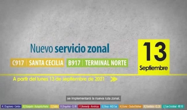 Nueva ruta zonal conectará a Santa Cecilia con Terminal del Norte.