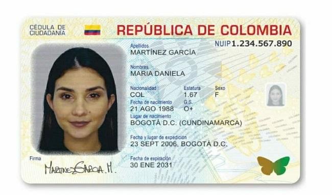 Así es la nueva cédula digital que se usará en Colombia