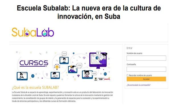 Escuela Subalab: La nueva era de la cultura de innovación, en Suba