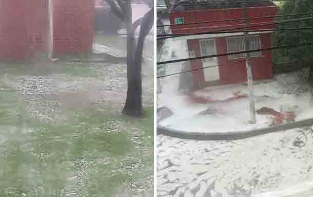 Fuerte aguacero en Bogotá este jueves afecto a por lo menos 11 localidades de Bogotá