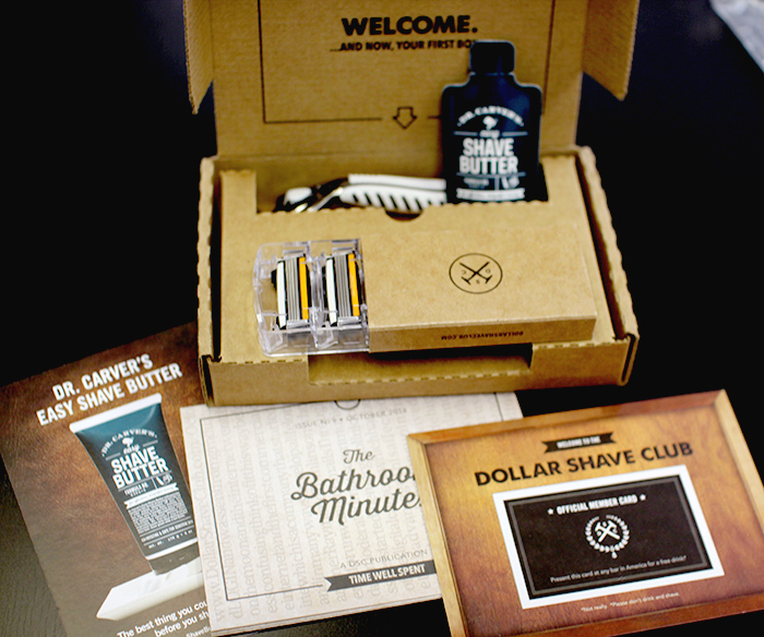 Dollar Shave Club Subscription Review October 2014