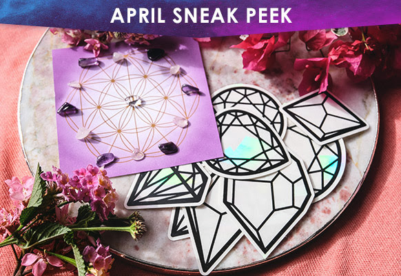 Goddess Provisions 2018 April Sneak Peek Subaholic