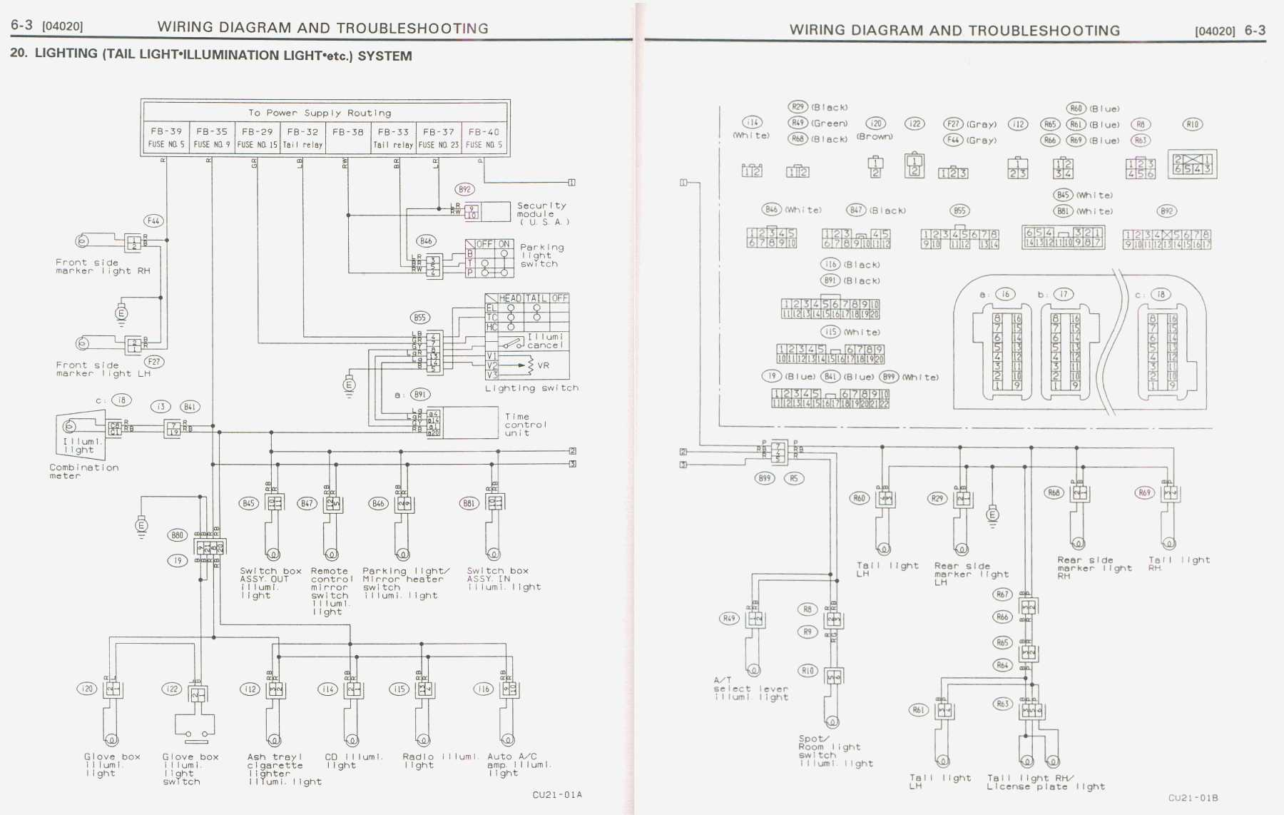 hight resolution of subaru svx wiring diagram circuit wiring and diagram hub u2022 1992 buick roadmaster fuse box diagram 1992 subaru svx fuse box diagram