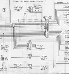 i think the tcu has a circuit that a17 c6 that converts a white wire aussie speed signal to a yellow red wire jdm speed signal  [ 2094 x 1518 Pixel ]