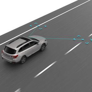 Subaru Lane Sway & Departure Warning