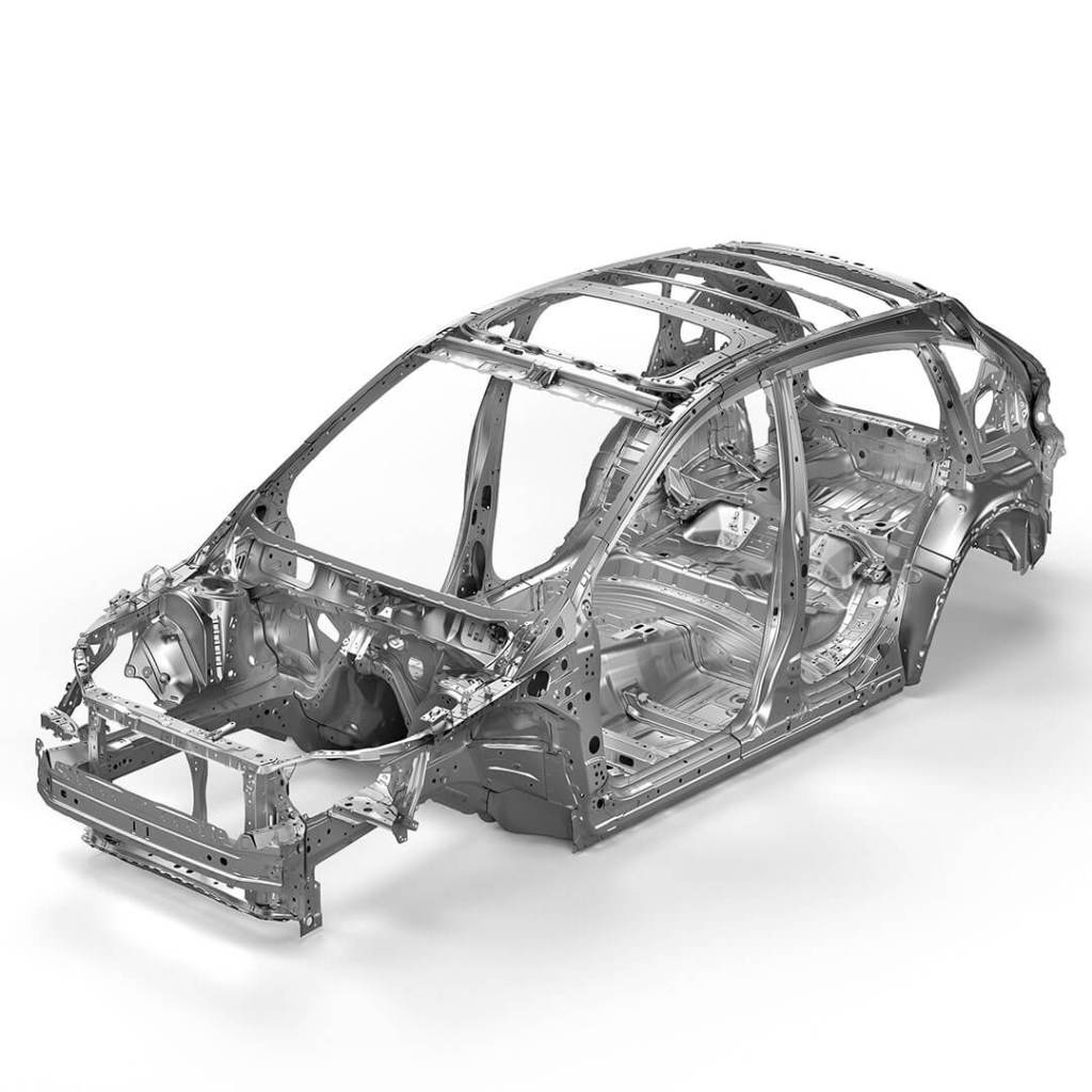 Subaru Advanced Frame Design