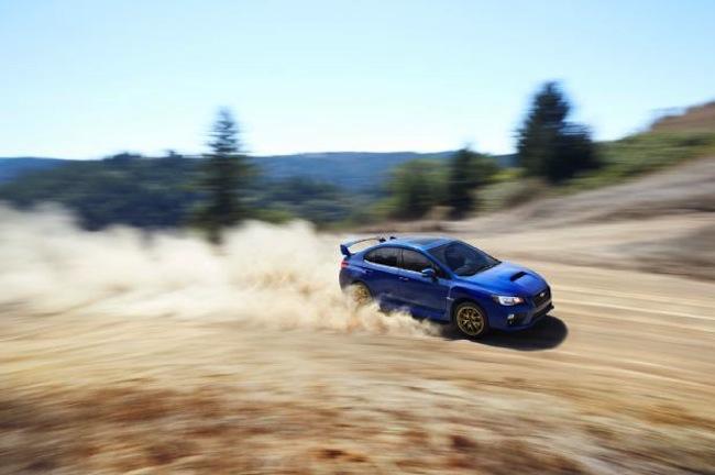 Best shot of the new 2015 Subaru WRX STI