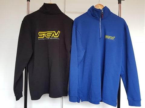 Sweater ritskraag 301010 (heren)