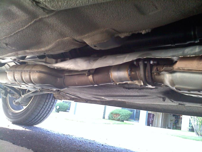 will a wrx exhaust fit on a forester