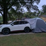 19 2019 Suv Tent Ton Of Battery Draining Lights Possible To Turn Off Subaru Forester Owners Forum