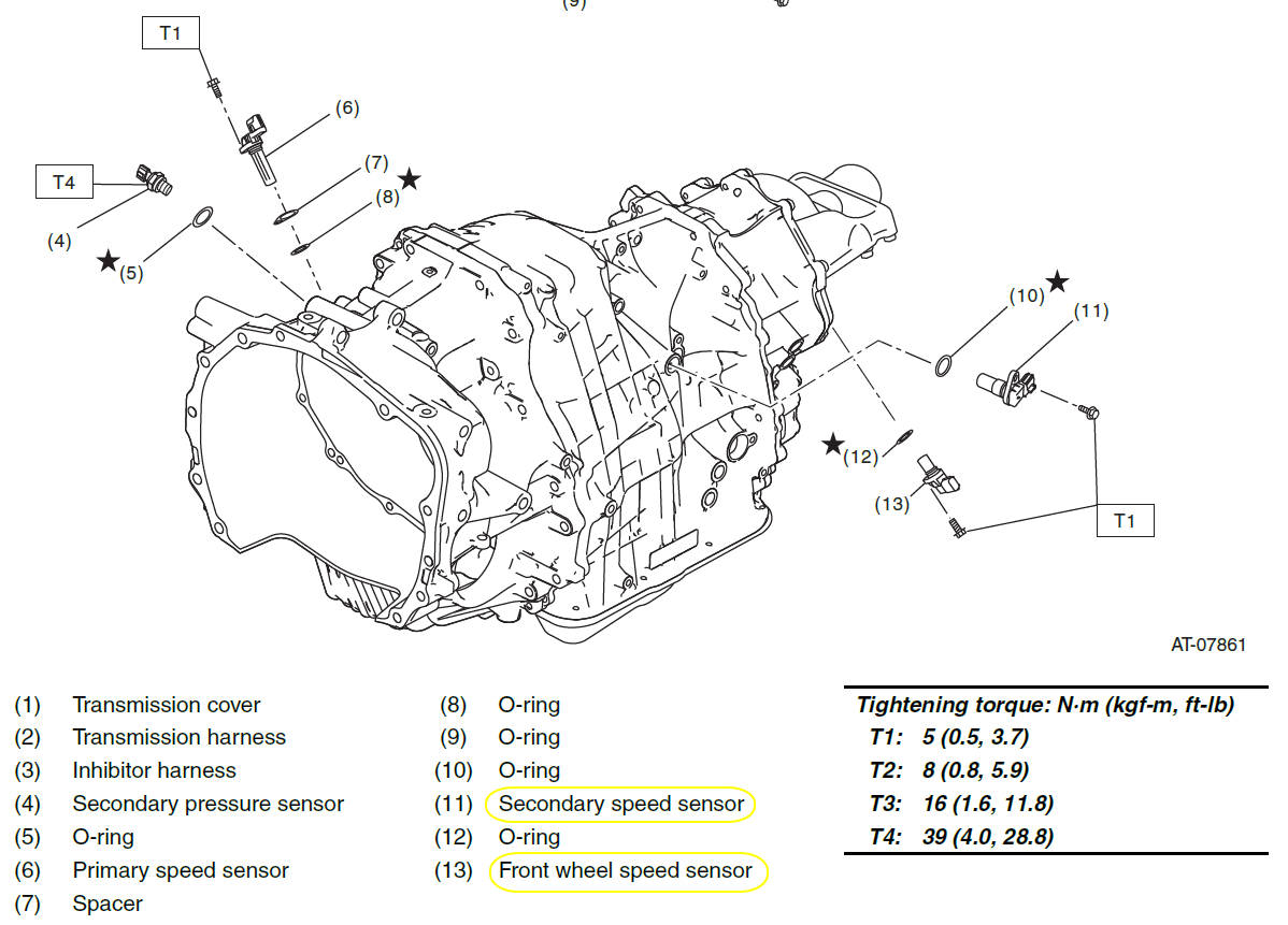 [DIAGRAM] Subaru Forester Wiring Diagram Transmission For