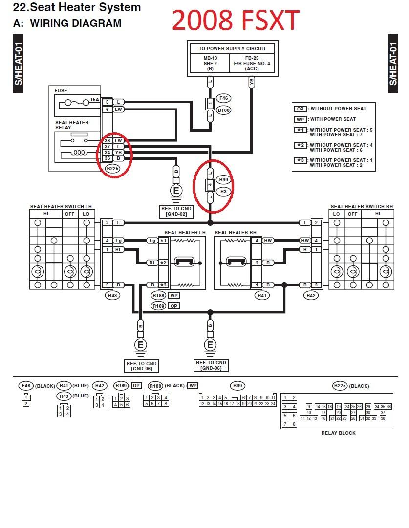 medium resolution of 2002 subaru outback heated seats wiring wiring diagrams schematicsubaru heated seat switch wiring library wiring diagram