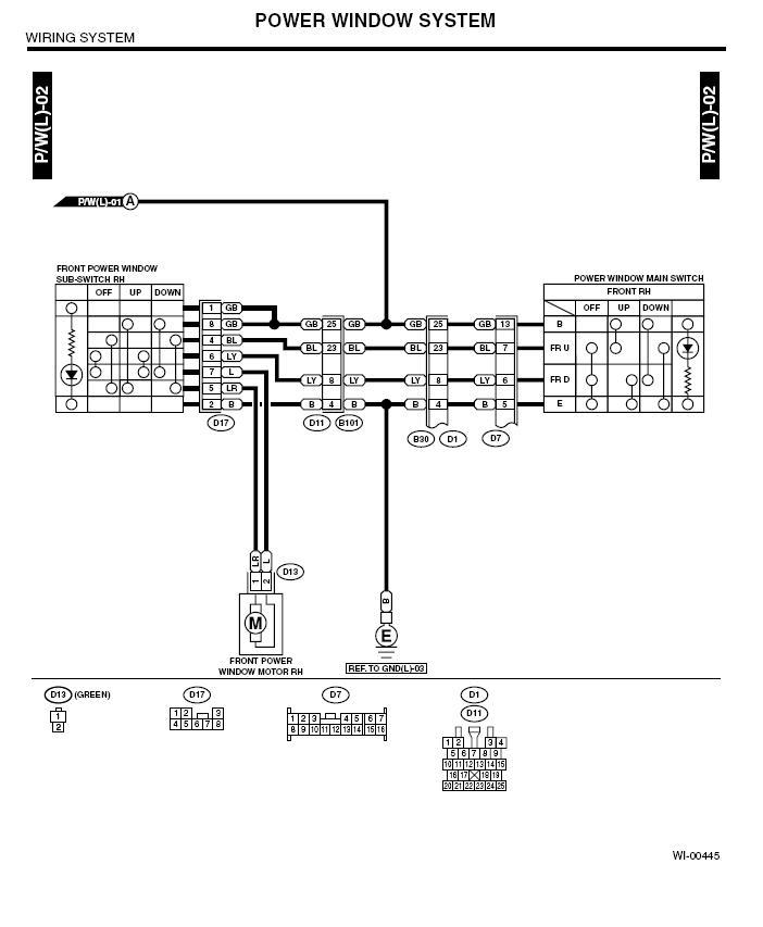 ('03-'05) door lock and window control wiring question