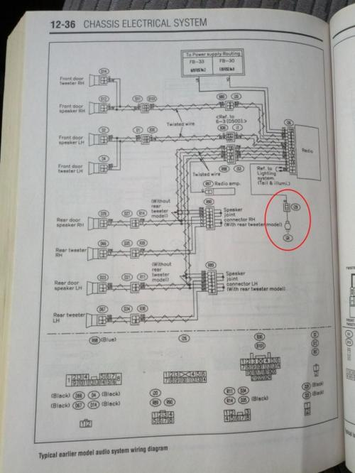 small resolution of 03 05 clock backlight radio circuit goes off intermittently wire diagram 2004 subaru forester clock