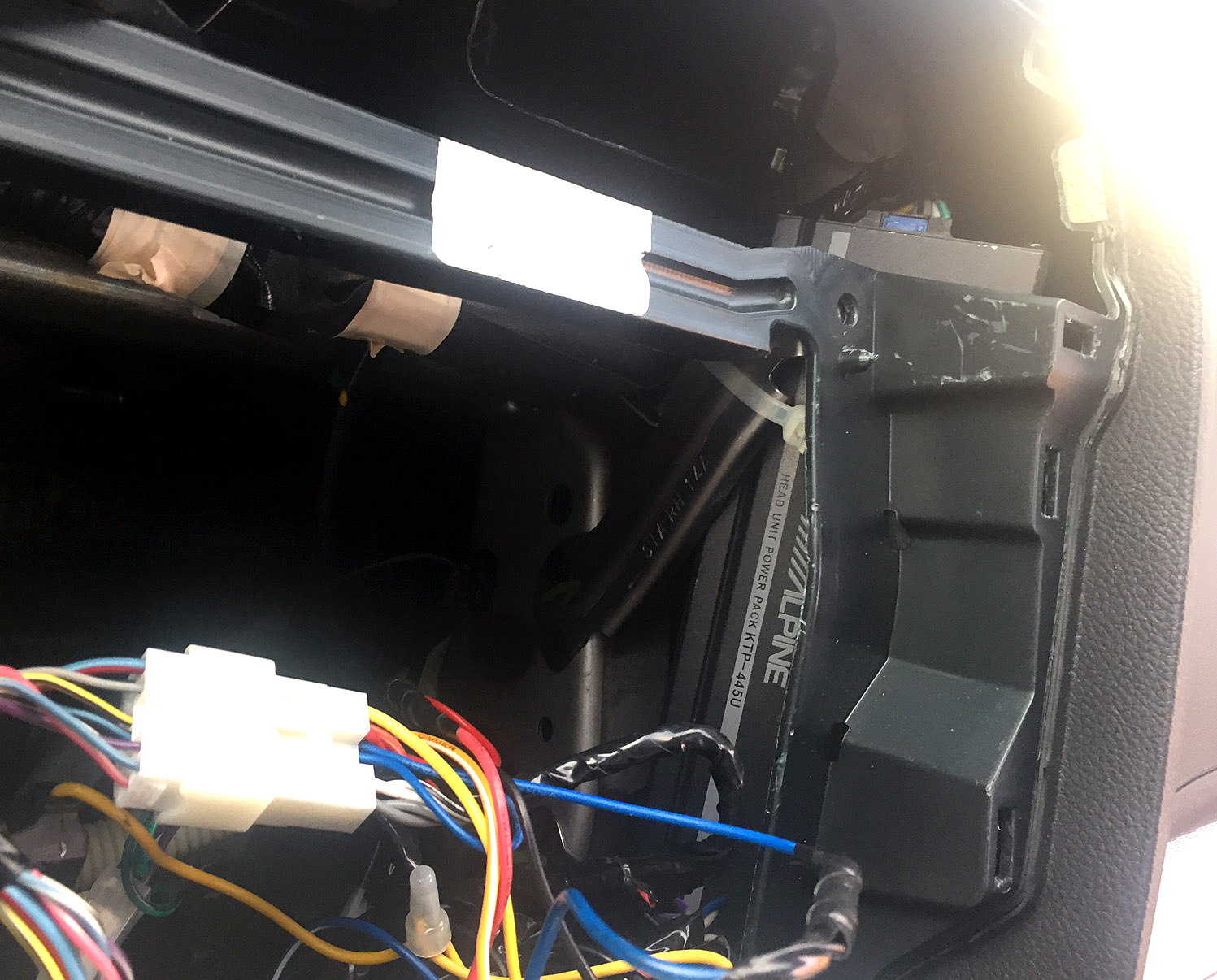 hight resolution of  wiring alpine ktp 445u powerpack amp installation in 2015 outback page 3 on alpine