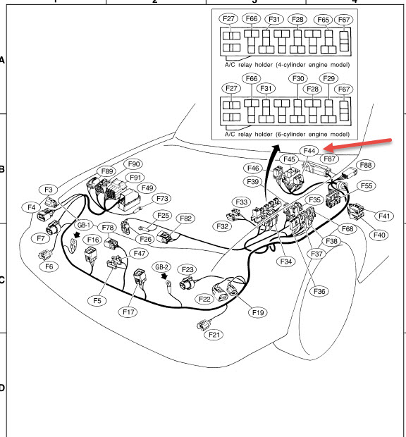 Subaru Outback Wiring Diagram Subaru Ignition Wiring