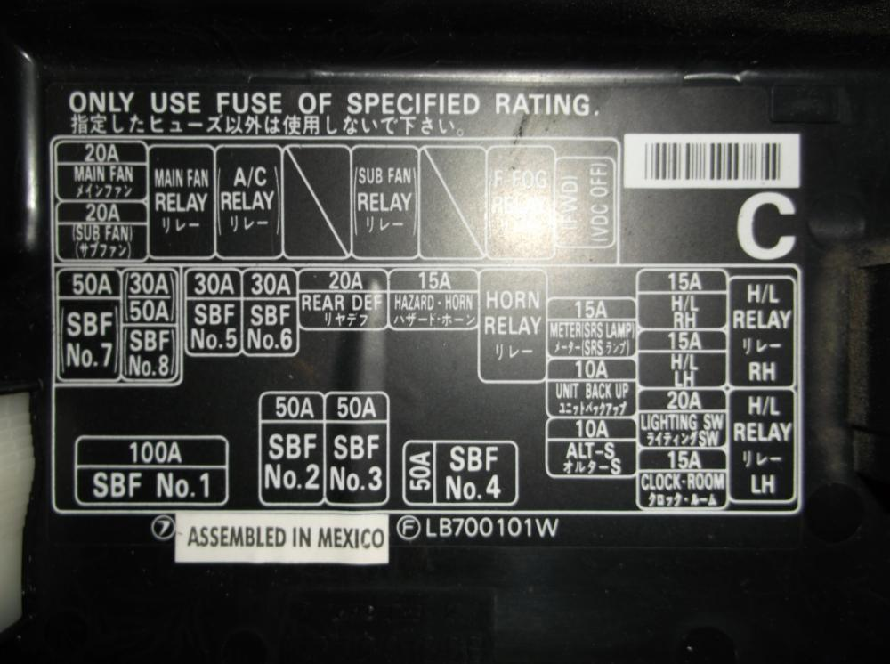medium resolution of  outback forums 184818d1436232443 cant find blown fuse fuse box under hood cant find blown fuse page 2 subaru