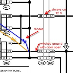 3 Way Wiring Diagram 2 Lights Heart Anterior Aspect Map W/dome Light? Gen - Subaru Outback Forums