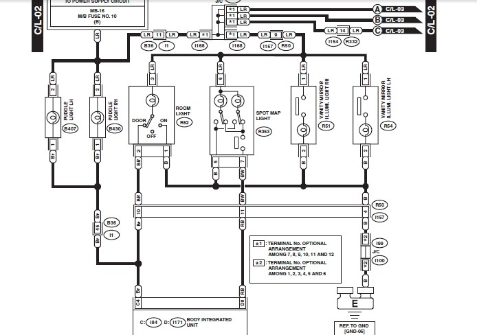 GRAFIK 2003 Subaru Wrx Fuse Box Diagram HD Quality