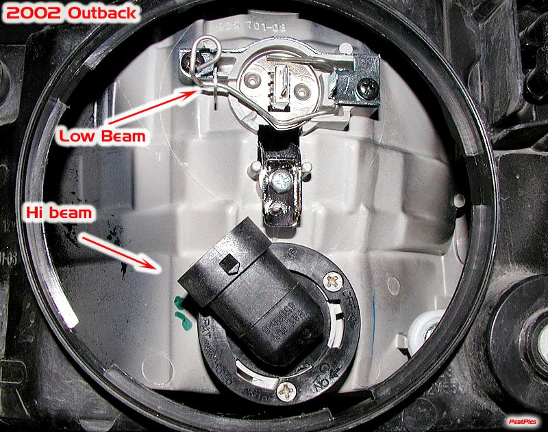 2001 subaru forester headlight wiring diagram harley speed sensor broken bulb retaining clip assembly help - page 2 outback forums