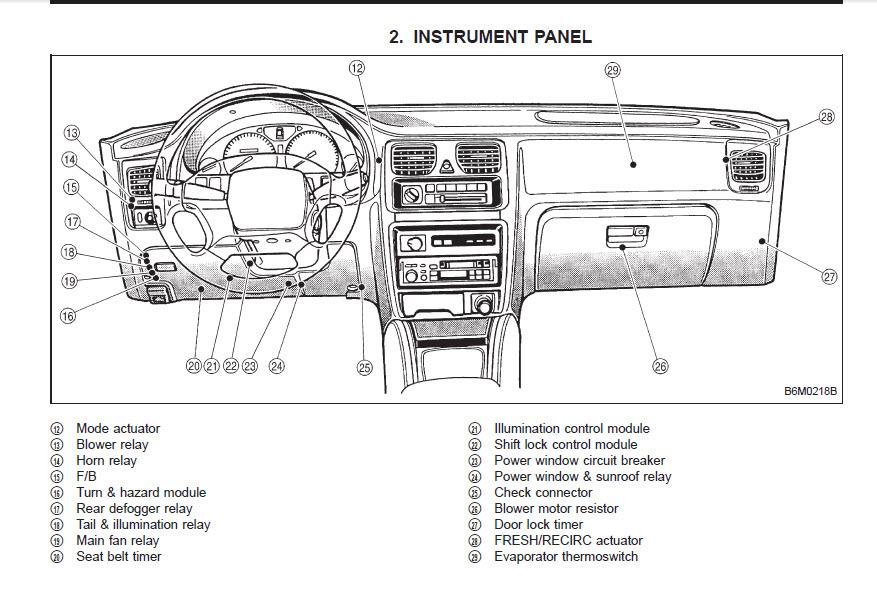 Subaru Forester 2002 Starter Wiring Diagram ~ Wiring