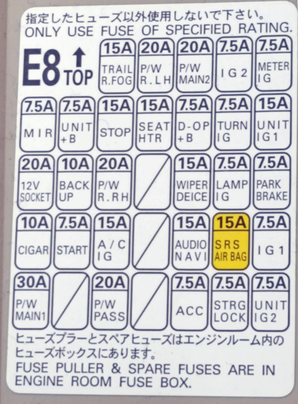 medium resolution of click image for larger version name saturn 2014 outback fuse box inside map codes