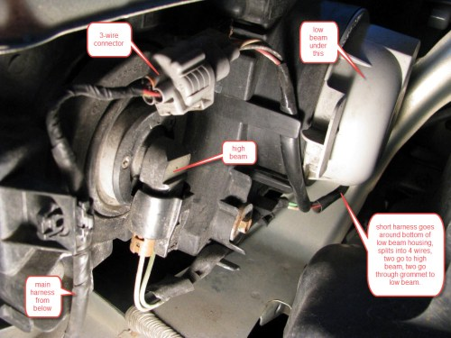 small resolution of subaru headlight harness wiring diagram show subaru forester headlight wiring diagram headlight wiring is this fixable
